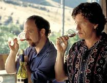 Paul Giamatti and Thomas Haden Church sniff, sip and slurp their way through wine country.